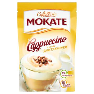 Cappucino śmietankowe 110 g- Mokate to idealny pomysł na chwilę relaksu.