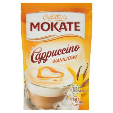 Cappuccino waniliowe - Mokate. Kawa o wyjątkowym, waniliowym smaku.