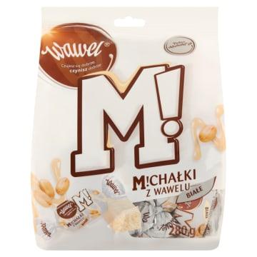 Wawel Michałki Białe - cukierki w czekoladzie. Alternatywa dla tradycyjnych Michałków Zamkowych.