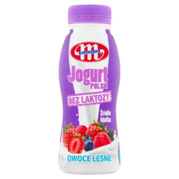 MLEKOVITA Bez laktozy Jogurt Polski Pitny owoce leśne 250g