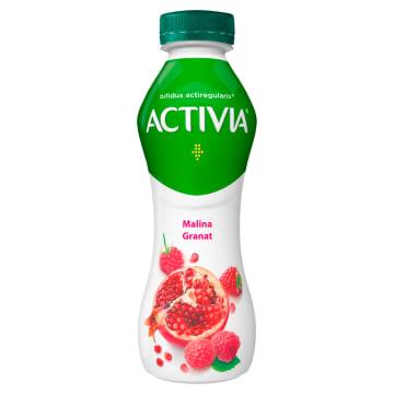 Jogurt Activia Malina Granat – Danone. Jogurt Activia posiada unikalne bakterie Acti Regularis