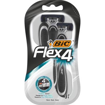 BIC Flex 4 Comfort Maszynka jednoczęściowa do golenia 3 szt. 1szt