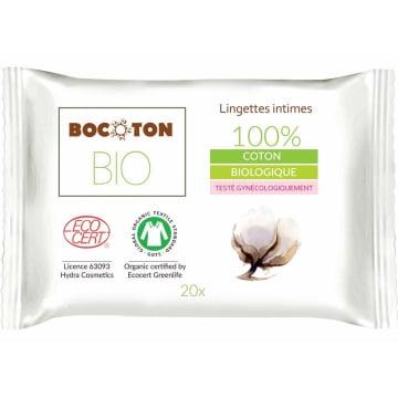 BOCOTON Chusteczki do higieny intymnej 20 szt. BIO 1szt