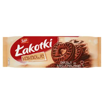 Ciasteczka kakaowe Łakotki - San