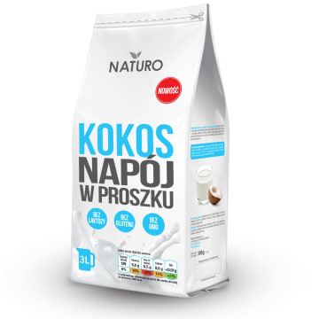 NATURO Kokos - napój w proszku 300g