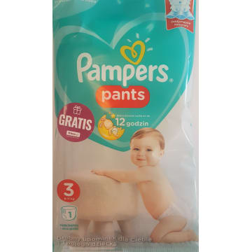 PAMPERS PANTS rozm 3 1 szt