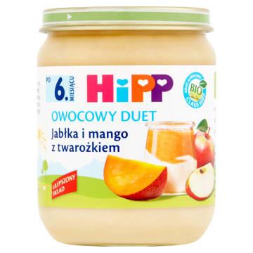 Hipp-Owocowy duet z twarożkem. Idealny pomysł na deser.