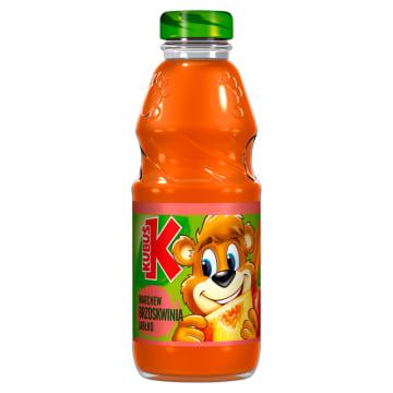 Kubuś- Sok marchew, brzoskwinia, jabłko 300 ml. Smakuje dzieciom i dorosłym.