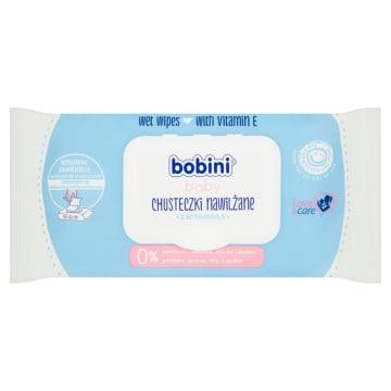 Chusteczki dla dzieci 70 szt - Bobini. Nawilżenie i pielegnacja delikatnej skóry dziecka.