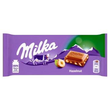 Czekolada mleczna Hazelnuts – Milka to, co w czekoladzie z orzechami najlepsze.