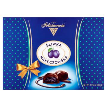 SOLIDARNOŚĆ Śliwka Nałęczowska w czekoladzie 300g