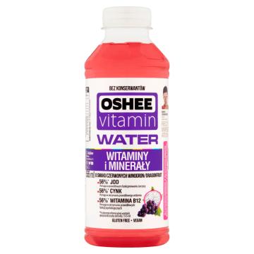 Vitamin H2O, napój jagodowy niegazowany - Oshee
