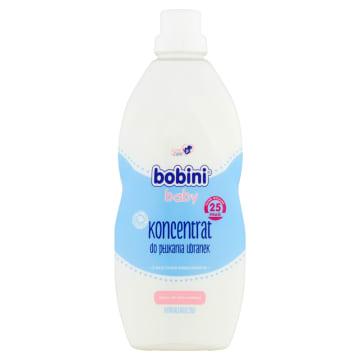 Hypoalergiczny koncentrat do płukania ubranek - Bobini. Zadba o delikatną skórę małego dziecka.