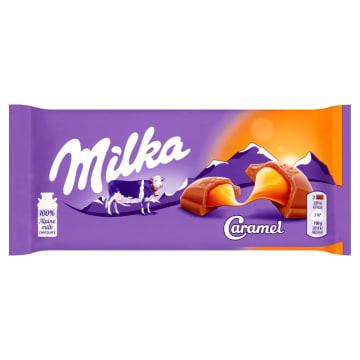 Caramel Czekolada mleczna z karmelem MILKA 100g - pyszne połączenie karmelu z czekoladą.