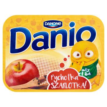 DANONE DANIO Serek jabłkowy z cynamonem 135g
