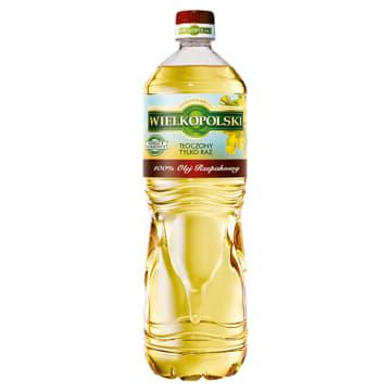 WIELKOPOLSKI Olej rzepakowy 100% 1l