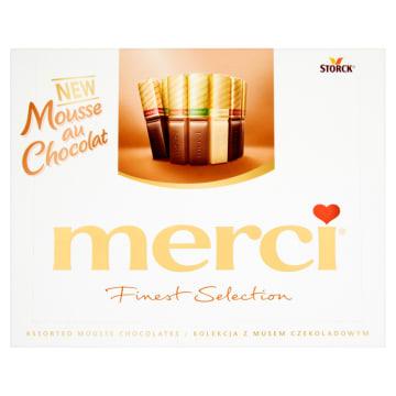 MERCI Finest Selection Kolekcja czekoladek z musem czekoladowym 210g