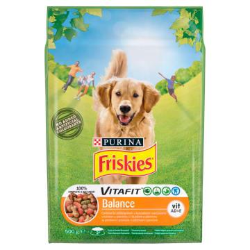 FRISKIES BALANCE Sucha karma dla psów z kurczakiem i warzywami 500g