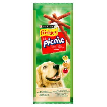 FRISKIES Picnik Przekąska dla psów z wołowiną 5 szt. 42g