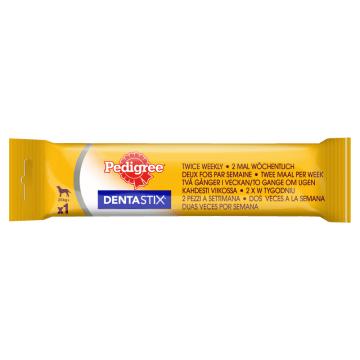 PEDIGREE DentaStix 2x w tyg Duże Rasy Przysmak dla Psów 120g