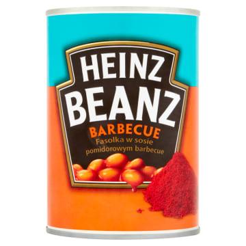 HEINZ Beanz Fasolka w sosie pomidorowym barbecue 390g