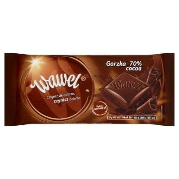WAWEL Czekolada gorzka 70% Cocoa 100g