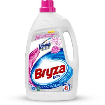 Żel do prania - Bryza Vanish Ultra 2w1. Usuwanie plam i ochrona koloru tkanin.