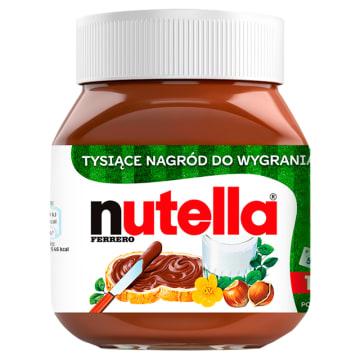 Krem do smarowania z orzechami laskowymi -Nutella