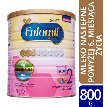 ENFAMIL Premium 2 2 Mleko następne powyżej 6. miesiąca życia 800g