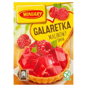 Galaretka o smaku malinowym - WINIARY. Prosta w przygotowaniu, o wyjątkowym smaku.