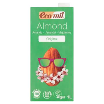 Napój migdałowy Almond - Ecomil. Alternatywa dla krowiego mleka.
