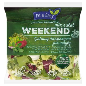 Mix sałat - Fix&Easy. To idealny składnik pożywnych i zdrowych sałatek, nie tylko na weekend.