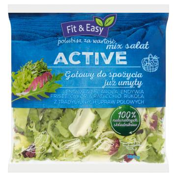 Kompozycja najwyższej jakości sałat – Fit & Easy. Zdrowo, lekko i smacznie.