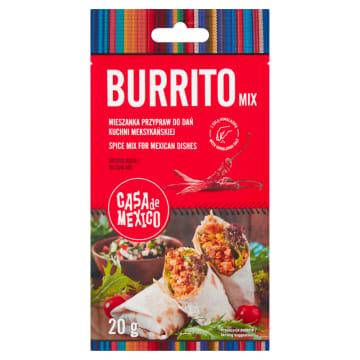 Przyprawa do Buritto-Casa de Mexico. Dodaje pikantności i aromatu.