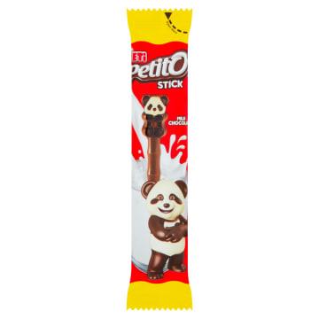 ETI Petito Paluszek z czekolady mlecznej deserowej i białej 15g