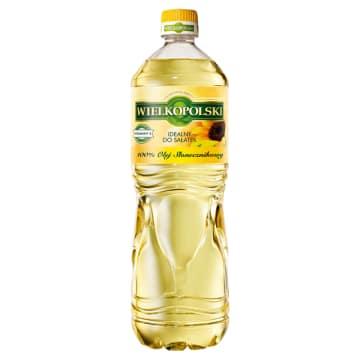 WIELKOPOLSKI Olej słonecznikowy 100% 1l