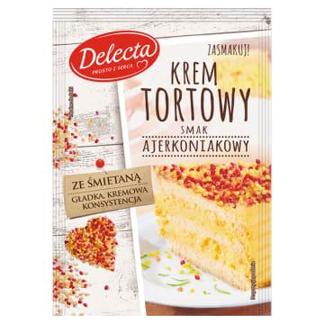 DELECTA Krem tortowy smak ajerkoniakowy 120g