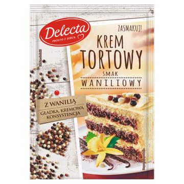 DELECTA Krem tortowy smak waniliowy 120g