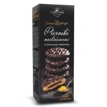 KOPERNIK Pierniki nadziewane w deserowej czekoladzie smak morelowy 145g