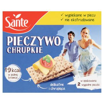 SANTE Pieczywo chrupkie tradycyjne 150g - doskonała alternatywa dla białego pieczywa.