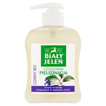 Biały Jeleń Premium - Hipoalergiczne mydło w płynie. Polecane dla skóry wrażliwej i zniszczonej.