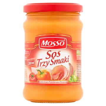 MOSSO Sos trzy smaki 240g