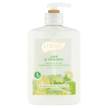 Mydło w płynie Lime & Vitamins. Nawilża skórę i poprawia i wygładza.