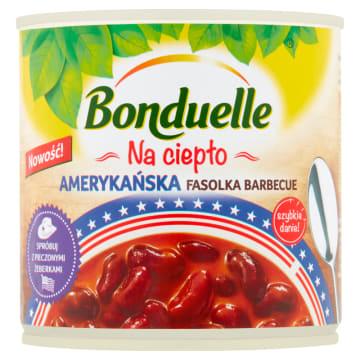Bonduelle Danie na ciepło-Amerykańska fasolka barbecue. Pyszny dodatek do mięsa.