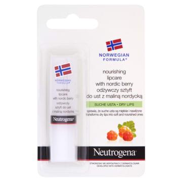 NEUTROGENA® Formuła Norweska Sztyft odżywczy do ust z maliną nordycką 1szt