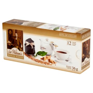 SIR WILLIAM'S ROYAL TASTE Herbata King of Ceylon 12 saszetek 36 g