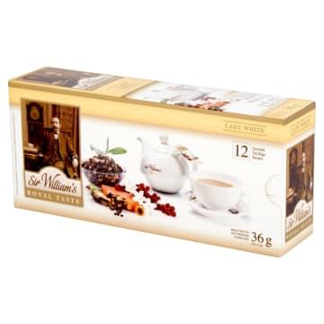 SIR WILLIAM'S ROYAL TASTE Herbata Lady White 12 saszetek 36g