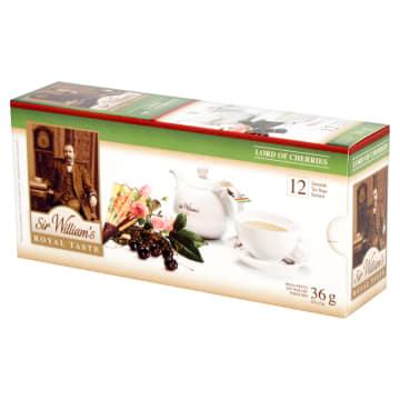 SIR WILLIAM'S ROYAL TASTE Herbata Lord of Cherries 12 saszetek 36g