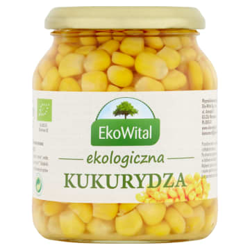 Kukurydza konserwowa 230g - Eko Wital