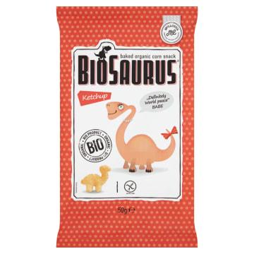 Chrupki kukurydziane o smaku ketchupu - Bio Saurus